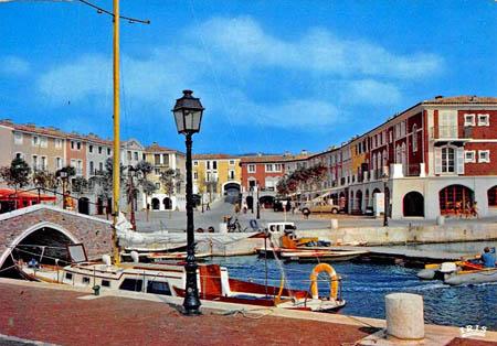 historique de port grimaud suite de la construction
