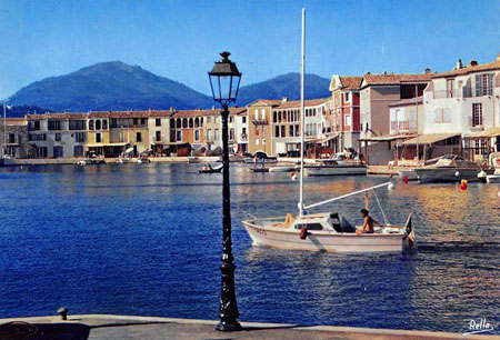 carte postale fosses port grimaud